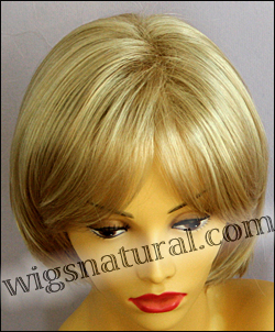 Envy open top wig Sheila, color shown medium blonde