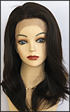 Lace Front Wig, BOBBI BOSS Front Lace Wig MHLF-B, Premium Human Hair, color #2