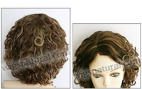 Human hair wig HH-DOLLY, color FS4/27, HairSense wig, Secret Collection