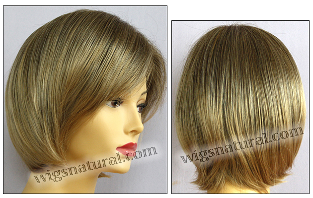 Envy open top wig Sheila, color shown frosted