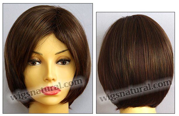 Envy open top wig Sheila, color shown cinnamon raisin