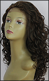 Lace front wig, BOBBI BOSS Lace Front Wig MHLF-F, Premium virgin REMY human hair, color #2