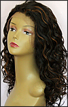 Lace front wig, BOBBI BOSS Lace Front Wig MHLF-F, Premium virgin REMY human hair, color F1B/30