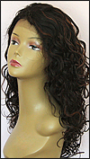 Lace front wig, BOBBI BOSS Lace Front Wig MHLF-F, Premium virgin REMY human hair, color F1B/33
