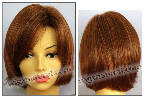 Envy open top wig Sheila, color shown lighter red