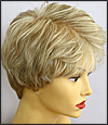 Envyhair wig Heather, Mono top lace front hand-tied sides and back wig, color shown light blonde