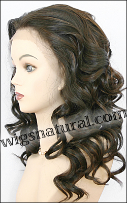 Lace Front Wig, BOBBI BOSS Premium Fiber Hair, style Front Lace Blue, color F4/30