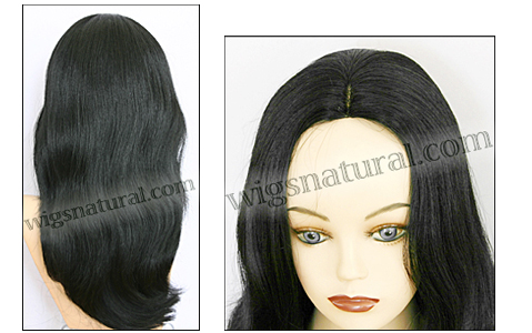 Human hair wig HH855, color #1, HairSense wig, Secret Collection