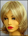 Envy mono top with lace front wig Taylor, color shown medium blonde