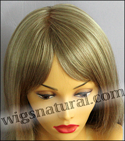Envy mono top wig Madison, color shown ginger cream