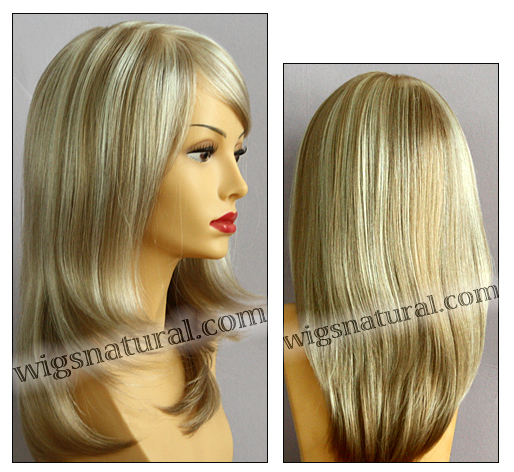 Envy mono top wig Madison, color shown light blonde