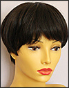 Envy mono top wig JoAnne, color shown dark brown