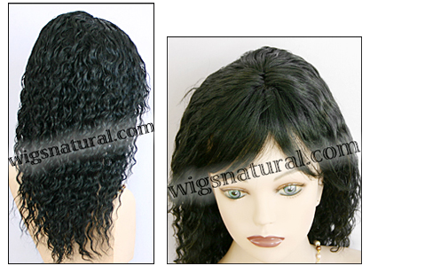 Human hair wig HH-ANDRA, color #1, HairSense wig, Secret Collection