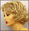 Envy lace front wig Norma, color shown medium blonde