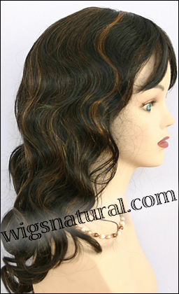 Human hair wig HH-GRACE, HairSense wig, Secret Collection, color FS1B/30