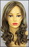 Envy lace front wig Alana, color shown almond breeze