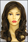 Envy lace front wig Alana, color shown medium brown