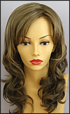Envy lace front wig Alana, color shown mocha frost