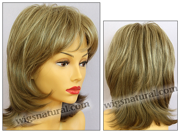 Envy lace front wig Barbie, color shown ginger cream