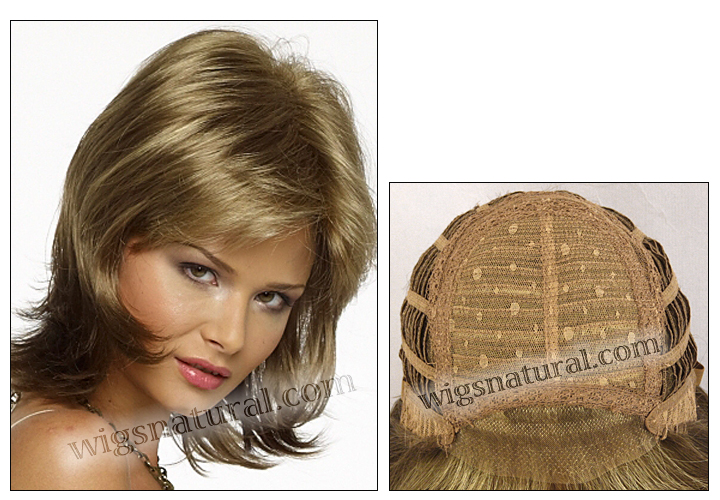Envy lace front wig Barbie (color shown ginger cream)