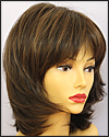 Envy lace front wig Barbie, color shown medium brown