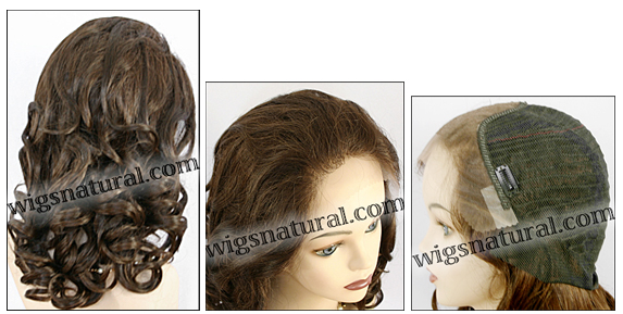 Lace Front Weave, Human Hair, Zury brand, wig style ULTRA LFW U-CANDY, color #2