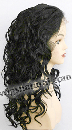 Lace Front Weave, REMY Human Hair, Hollywood brand,style REMY-LFW-LEONA, color #1