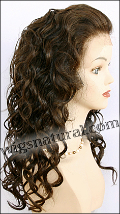 Lace Front Weave, REMY Human Hair, Hollywood brand,style REMY-LFW-LEONA, color #4