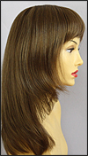Envy mono part wig Leyla, color shown light brown
