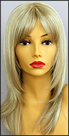 Envy mono part wig Leyla, color shown light blonde