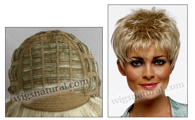 Envy open top wig Penelope (color shown light blonde)