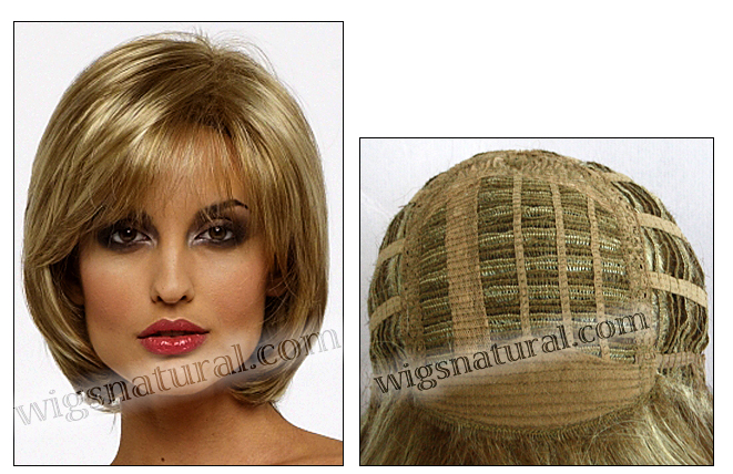 Envy open top wig Sheila (color shown dark blonde)