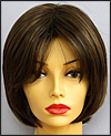 Envy open top wig Sheila, color shown medium brown