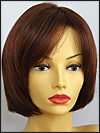Envy open top wig Sheila, color shown dark red