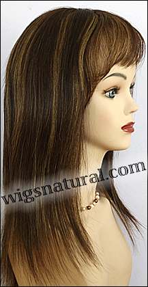 Human hair wig HH874, HairSense wig, Secret Wig Collection, color FS4/27