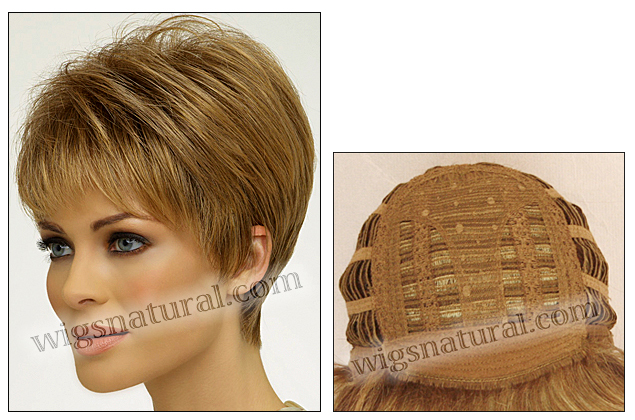 Envy open top wig Tiffany (color shown light brown)