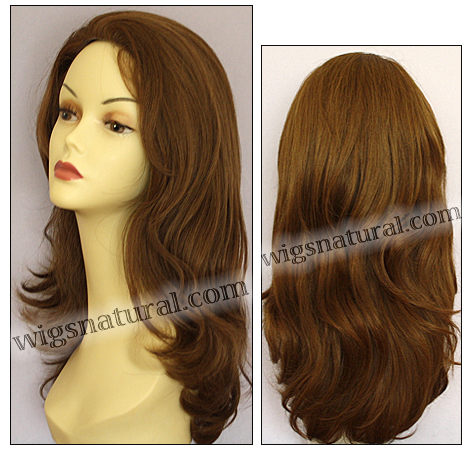 Human hair wig H LESLIE, SEPIA Wig Collection, color M6/30