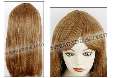 Human hair wig June, color #30, Magic Touch Collection