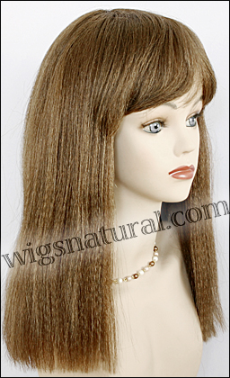 Human hair wig June, color #6, Magic Touch Collection