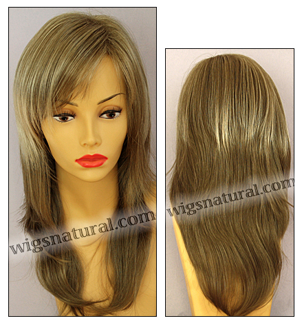 Envy wigs, open top wig Sasha, color shown ginger cream