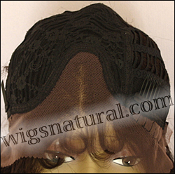 Lace front wig HRH-LACE WIG ONYX, Sister Remy human hair lace wig, color #2