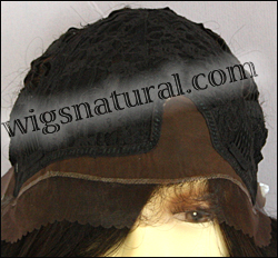 LACE WIG CH-MISHA, Sister Chiffon Double Lace Front Wig, Remy fiber lace front wig, color FS4/30