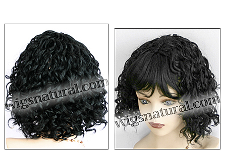 Human hair wig Jessica, Magic Touch Wig Collection,  color #1