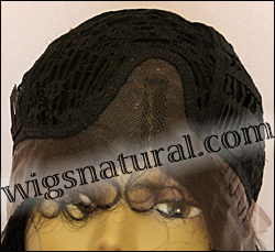 Lace Front Wig HRH-LACE WIG BRAZILIAN, Hollywood Remy Human Hair wig, color #1