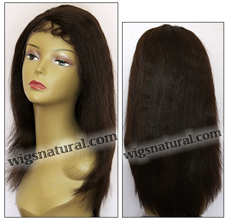 Lace Front Wig HRH-LACE WIG BRAZILIAN, Hollywood Remy Human Hair wig, color #2