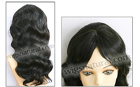 Human hair wig HH-GRACE, HairSense wig, Secret Collection, color 1B