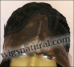 Lace Front Wig HRH-LACE WIG BRAZILIAN, Hollywood Remy Human Hair wig, color FS1B/30