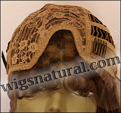 Lace Front Wig HRH-LACE WIG BRAZILIAN, Hollywood Remy Human Hair wig, color F27/4/30