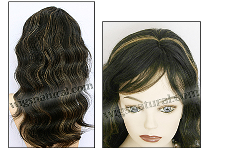 Human hair wig HH-GRACE, HairSense wig, Secret Collection, color FS1B/27
