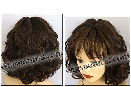 Human hair blend wig HB SENSE, SEPIA Love it wig collection, color MFS4/30